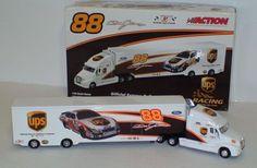 Dale Jarrett #88 Action UPS 2006 Nascar 1/64 Transportation Truck Hauler #Action