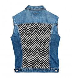 Do it yourself : une veste en jean hipster customisée - Cosmopolitan.fr
