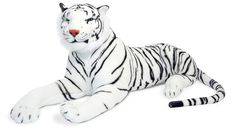Project Nursery - White Tiger Giant Stuffed Animal from Melissa & Doug