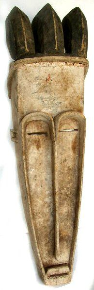 Fang Mask by  Unknown Artist