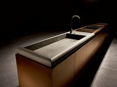 DC10 Linear kitchen by Rossana design Vincenzo De Cotiis