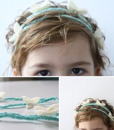 butterfly hippie child headband ..tutorial by bobbie