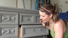 Pretty Distressed Annie Sloan Chalk Paint® Tutorial #3 - Distressing