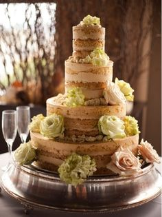 awesome naked cake