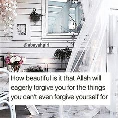 We sin and sin and Allah forgives us. Why can't we forgive ourselves?