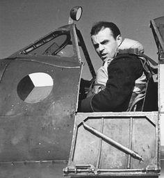 Otmar Kučera The Finest Hours, Supermarine Spitfire, Battle Of Britain, Fighter Pilot, Aviators, Rare Photos, Wwii, Planes, Respect