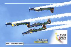 Esquadrilha da Fumaça @fumaca_ja #BRASIL estará en la #FAIRCOLOMBIA