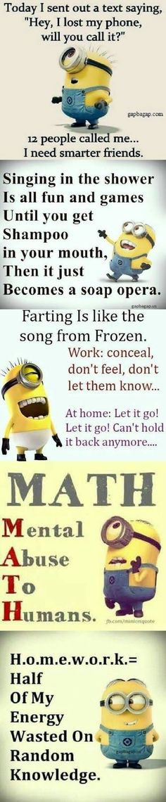 Top 5 Funny Minion Quotes... - 5, Funny, Funny Quote, Minion, minion quotes, Quotes, Top - Minion-Quotes.com