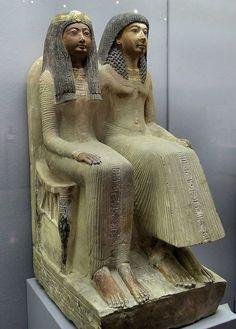 Neje y Mut-Nofret, Museo Egípcio München