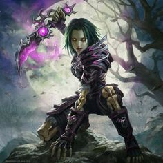 "moralio: "" Undead Rogue from game World of Warcraft, perfect digital drawing by Laura Sava Art "" Dark Fantasy Art, Fantasy Kunst, Fantasy World, Fantasy Artwork, Art Warcraft, World Of Warcraft 3, World Of Warcraft Characters, Fantasy Characters, Female Characters"