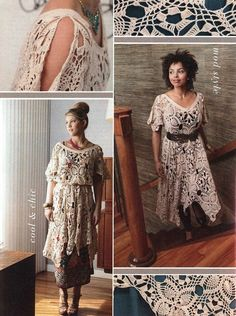 lacy crochet dress-I have this pattern