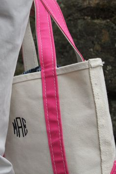 monogram and pink! must