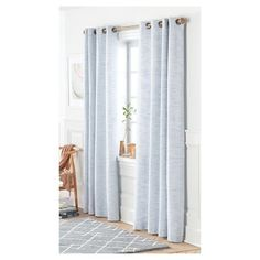 Threshold Target Valance Red Racing Stripes on Brown Light Filtering Cotton RP