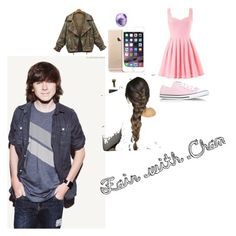"""""""Chandler Riggs"""" by mckeena-pewitt on Polyvore featuring Converse and Eos"""