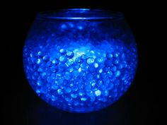 example of what it would look like.  Floral Lights Submersible FloraLyte Blue LED Re-usable 10 for $17