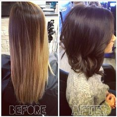 sitting pretty — Beautiful makeover by Suzannah! Rich chocolate...