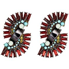 Vionnet Earrings Drops Earrings ($89) ❤ liked on Polyvore