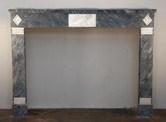 Fireplace Mantels - See all Fireplace Mantels, Fireplaces, Saint Ouen, Marble, Paris, Mirror, Decoration, Frame, Home Decor