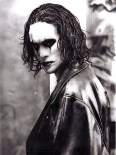 The Crow.... Brandon Lee was perfect, one of my fave movies :)