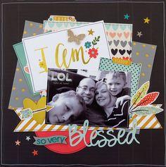 I Am So Very Blessed  **My Creative Scrapbook** - Scrapbook.com