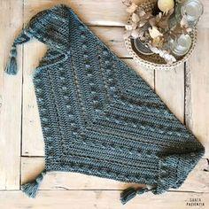 chal de crochet santa pazienzia Ganchillo Bufanda dafaa9d11e0