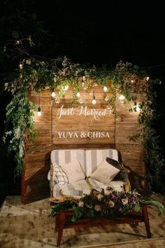 Fantastic dream wedding are available on our website. Read more and you wont be sorry you did. Rustic Wedding Backdrops, Wedding Reception Backdrop, Wedding Photo Booth, Wedding Stage, Dream Wedding, Church Wedding Decorations Rustic, Rustic Photo Booth, Wedding Ceremony, Ishigaki