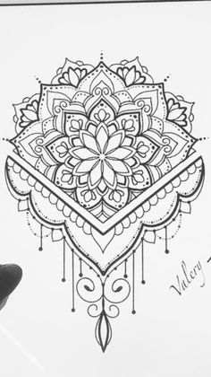 Henna Mandala, Mandala Tattoo Design, Henna Tattoo Designs, Mandala Drawing, Buddha Tattoos, Body Art Tattoos, Hand Tattoos, Bear Coloring Pages, Mandala Coloring Pages