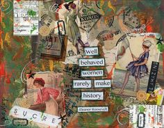 Well Behaved Women - Just Mary Designs Journaling, Original Art, My Arts, Mary, Wellness, Shop, How To Make, Painting, Design