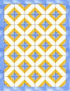 free easy baby quilt pattern | FabricMom