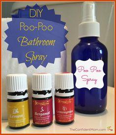 DIY Poo-Poo Bathroom Spray