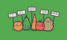 veggies have feelings too