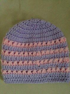 My pattern girls hat