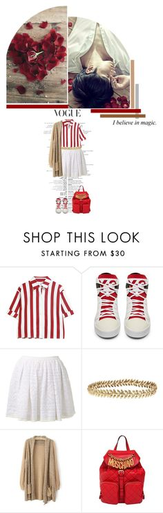"""""""SELECTION//110"""" by kareeenn ❤ liked on Polyvore featuring Sea, New York, Ellen Hunter, Moschino, korea, asia, 2pm, chansung and HwangChansung"""