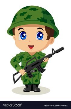 Find Cute Cartoon Illustration Soldier stock images in HD and millions of other royalty-free stock photos, illustrations and vectors in the Shutterstock collection. Thousands of new, high-quality pictures added every day. Cartoon Cartoon, Cartoon Characters, Chibi, Drawing For Kids, Art For Kids, Pin Up Girl, Indian Army Wallpapers, Community Helpers Preschool, Flashcards For Kids