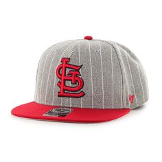 6fe5c6f510ebc St. Louis Cardinals Holbrook Captain Gray 47 Brand Adjustable Hat