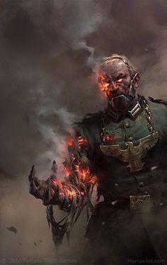 Chaos Commiasar by Slawomir Maniak