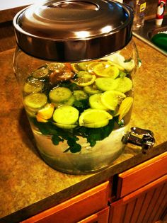 Weight loss water:  What a great idea!