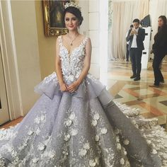 via patricia beautiful gown