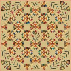 Dresden Bloom by Laundry Basket Quilts - Edytar did yet another amazing quilt - WOW