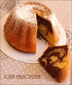 Torta marmorizzata o Marmorkuchen, ricetta tedesca
