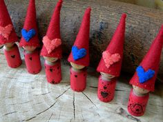 Waldorf Valentine Peg Doll, Waldorf Gnome