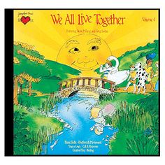 Greg & Steve: We All Live Together Vol. 4 CD,  number-one children's music duo in the country. http://www.thegreenapple.us/greg-steve-live-together-p-48751.html?osCsid=eq3q6stohesfg2pp2gn4pd50q3#.UcwhTDvQmGM