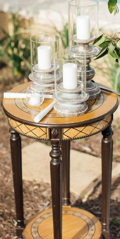 Small Wooden Table for Ceremony Unity Table