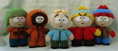 south park group shot 2 by TheArtisansNook