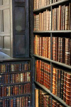 St John's College Old Library - Corner Shelf