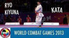 World Combat Games 2013. Ryo KIYUNA of Japan. Karate Men's Kata. Finals ...