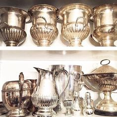Tell the weekend that I'll be ready in a Prosecco! Prosecco Bar, Flea Market Style, Cottage Style, Antique Silver, Mugs, Antiques, Tableware, Vintage, Instagram