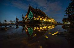 Photograph Unseen thailand (Wat sirinton) by sarawut Intarob on 500px
