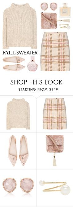 """""""Cozy Fall Sweaters"""" by lgb321 ❤ liked on Polyvore featuring Tom Ford, MARC CAIN, Balmain, Sophia Webster, Brother Vellies, Monica Vinader, Sophie Bille Brahe, fashionset, fallstyle and fallsweaters"""