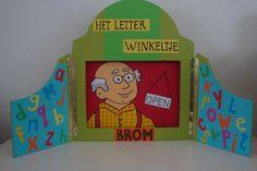 Het Letterwinkeltje van opa brom (groep2)